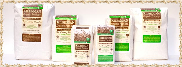 all products from kilbeggan organic foods
